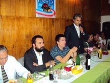 En aniversario del Partido Radical, se reencuentra Fulvio Rossi y Jorge Soria