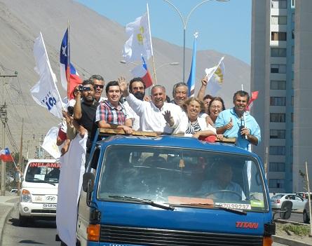 """…Y el """"Choro"""" Soria de re-encontró con """"el pueblo de Iquique"""""""