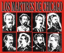 Gloria  eterna a los mártires de Chicago