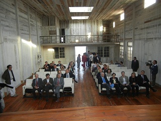 Aporte al Patrimonio: Restauran Casa del Médico Jefe en Humberstone  y Teatro La Palma