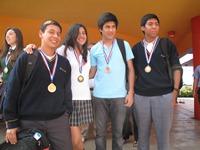 Explora  premios a los mejores de las Olimpiadas de Química