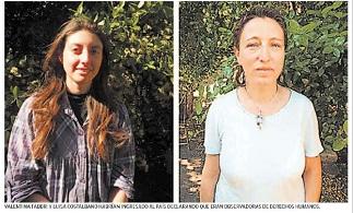 Organismo internacional acusan «persecución del Estado de Chile» contra dos observadoras italianas