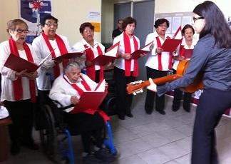 Ex prisioneras de Pisagua entonaron sus cantos en el Día Mundial Contra La Tortura