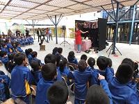 """Con obra """"Don Giovanni, el cocinero loco"""", SEREMI de Salud de Tarapacá enseña a prevenir la Hepatitis A"""