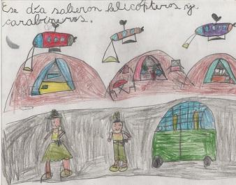 En Casa de la Cultura de Iquique montan Expo con dibujos de niños afectados por el terremoto