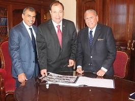 Alcalde Soria gestiona con Paraguay vuelos directos Iquique-Asunción-Sao Paulo