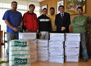 Trabajadores desvinculdos de empresa Coca Cola reciben ayuda de la Gobernación de Iquique