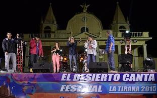 Exitoso festival «El Desierto Canta», realizado en pueblo de La Tirana