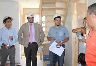Beneficiaria de vivienda post terremoto: «No estaba muy convencida al prinicpio»
