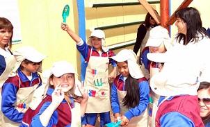 """Invitan a escuelas a participar en el programa del FOSIS """"Vive tu huerto 2015"""""""
