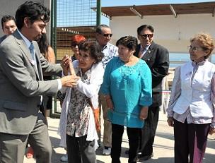 Inauguran casas del programa de Viviendas Protegidas del  Servicio Nacional del Adulto