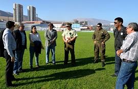 Con visita de la Comisión local Estadio Seguro se prepara CDI para primer partido por Copa Chile
