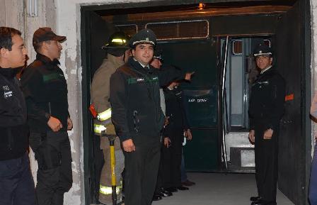 Realizan simulacro nocturno en Centro de Cumplimiento Penitenciario