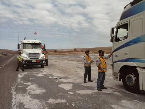 Instauran restricción a transporte de carga con motivo de La Fiesta de La Tirana