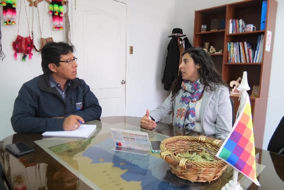 Conadi gestiona acercamiento de las comunidades indígenas en El Tamarugal