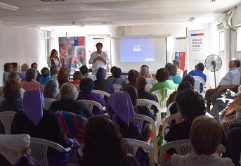 Masivo encuentro de adultos mayores en el Tamarugal, durante «Gobierno en Terreno»