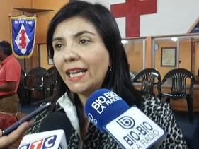 """Concejala Astudillo: """"Es lo más nefasto que hay en la política. No debe ser jamás candidato por Tarapacá, ni otra Región"""""""