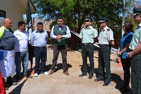 Reos realizan labores agrícolas en Pozo Almonte