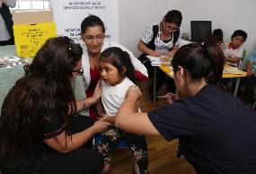 Más de 15 mil niñas y niños de Tarapacá ya se vacunaron contra el Sarampión