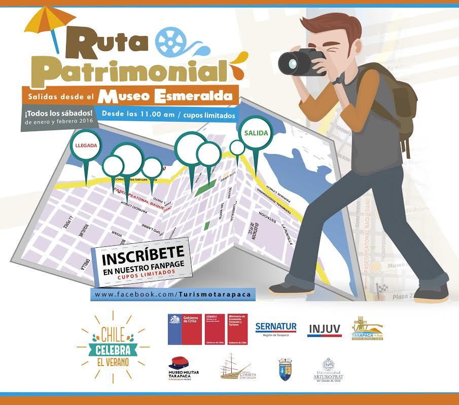 Ruta Patrimonial: Todos los sábados de verano se realizarán visita a  principales sitios de zona histórica de Iquique