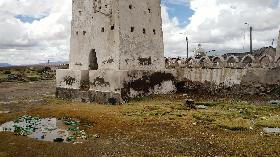 Isluga afectada por basura de visitantes