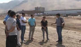 Se Iniciaron las obras de plantación de pasto natural en el ex Estadio Cavancha