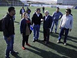 Inspeccionan Estadio de Alto Hospicio ante encuentro entre Deportes Iquique y Unión Española