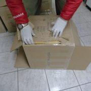 Un chileno y un boliviano llevaban 15 cajas con más de 66 kilos de cocaína en cajas falsas