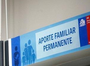 Desde el 1 de marzo se inicia pago del Aporte Familiar Permanente destinado a personas más vulnerablbes