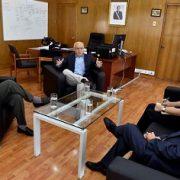 Intendente se reunión con cónsules: Migrantes podrían ser censistas voluntarios este 19 de abril