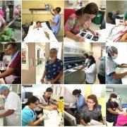 Destacan labor del trabajador hospitalario. Más del 60 por ciento de los funcionarios son mujeres