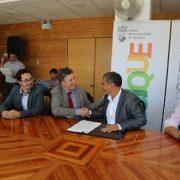 Firman convenio que permitirá realiza el Estudio de Actualización del Plano Regulador Comunal
