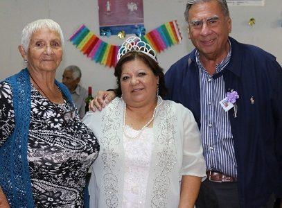"""Jorge Soria en aniversario de Centro del Adulto Mayor """"Santa Lucía"""", lo destaca por incorporar a socios con capacidades especiales"""