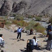 Realizan circuito de caminatas por senderos patrimoniales en Quipisca, en ruta asociada al Camino del Inca