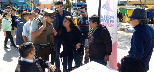 Fulvio Rossi fuera de control: Su hijo Franco provoca a partidarios de Jorge Soria, mientras empadronan a adherentes