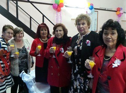 Ex alumnas de la Escuela Técnica Femenina, celebraron los 59 años del ex establecimiento educacional