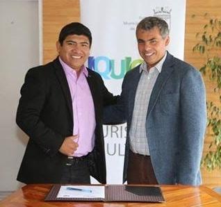 Turismo patrimonial, conectividad e integración orientarán trabajo conjunto entre Municipios de Iquique y Huara