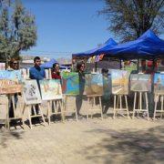 Ruta de Arte in situ, iniciativa cultuiral que realizaza el Colectivo Estación Iquique