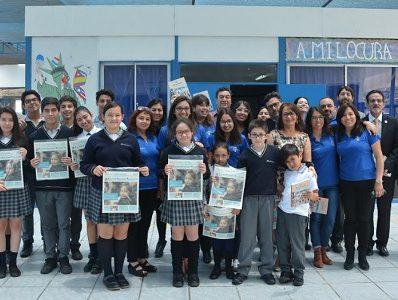 Lanzan libro sobre historias de comunidades escolares de distintas ciudades. Destacan experiencia del colegio Humberstone