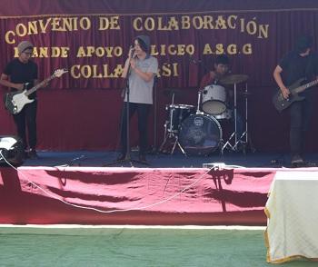 Convenio con minera permitirá durante 4 años, mejorar infraestructura, equipamiento y capacitación docente de Liceo de Pozo Almonte