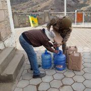 Operativo entre municipo y Ejército para abastecer con agua a localidades de Huara, ante emergencia climática