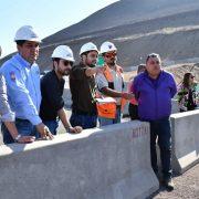 CORES de la Comisión  de Inversión e Infraestructura, sesionaron en terreno para evaluar obras del segundo acceso a Iquique