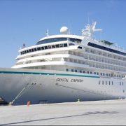 Concluyó temporada de Cruceros con llegada de buque Crystal Symphony. Salitreras sitio predilecto de los visitantes