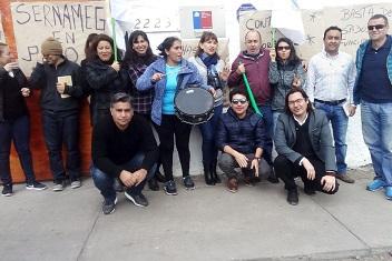 Tarapacá se suma al paro que realiza Sernameg en oficinas de todo el país, por despidos de funcionarios