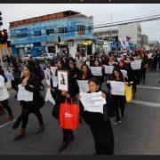«No hay justicia, no hay verdad, solamente impunidad», proclama de feministas al marchar por mujeres víctimas de la dictadura