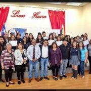 Alumnas y alumnos del Liceo de Huara se comprometen a trabajar en prevención de Violencia Contra la Mujer