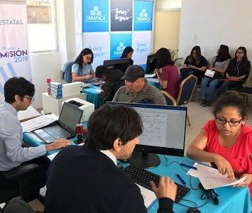 Futuros estudiantes del CFT Estatal que ya realizaron su matrícula, provienen de distintos lugares de Tarapacá