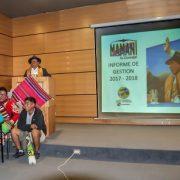 Como un acto de transparencia y una gestión basada en el regionalismo, concejal Mamani dio pública cuenta de su gestión