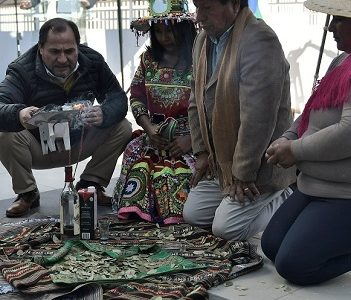 Alto Hospicio: Con bailes aymaras y la tradicional pawa se realizó el lanzamiento del Willka Kuti 2019