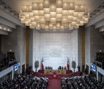 Un amplio balance entregaron parlamentarios de diversas bancadas, una vez concluido el mensaje presidencial.